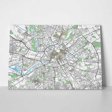 Colorful manchester city map 1055653499 a