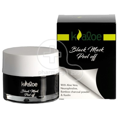 KALOE - Black Mask Peel Off - 50ml