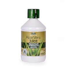 Aloe Pura Aloe Vera Juice Maximum Strength - Φυσικός Χυμός Αλόης, 500ml