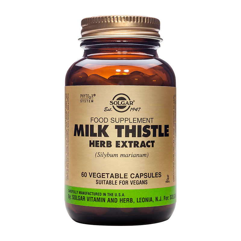 Milk Thistle Herb & Seed Extract veg. caps
