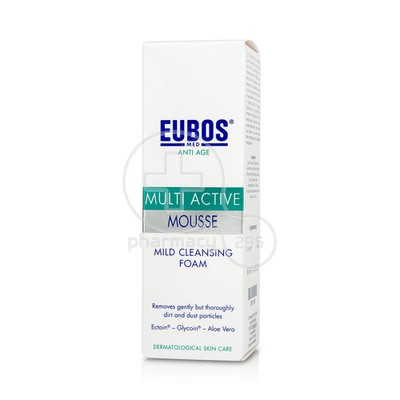 EUBOS - MULTI ACTIVE Mousse Mild Cleansing Foam - 100ml