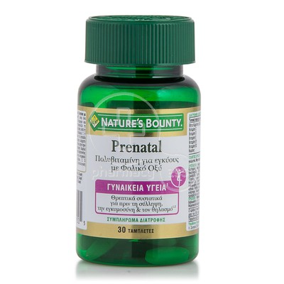 NATURE'S BOUNTY - Prenatal - 30tabs