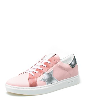 STYLISH LEATHER SNEAKER