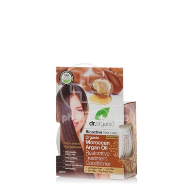 DR. ORGANIC - MOROCCAN ARGAN OIL Restorative Treatment Conditioner - 200ml