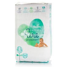Pampers No.1 (2-5kg) - Pure Protection, 50τμχ