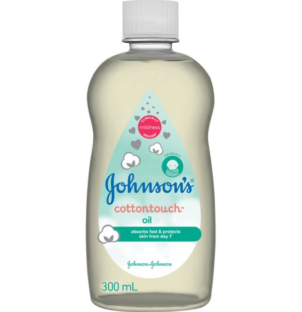 JOHNSONS BABY COTTON TOUCH OIL Βρεφικό Ενυδατικό Λάδι για το Σώμα 300ml