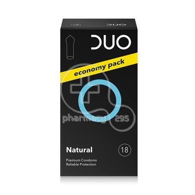 DUO - Προφυλακτικά Natural Economy Pack - 18pcs