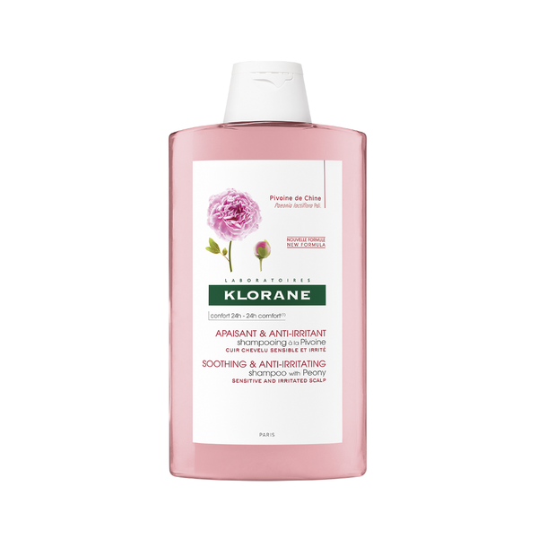KLORANE HAIR PIVOINE SHAMPOO 400ML