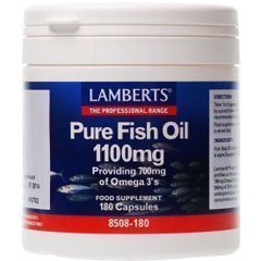 Lamberts Pure Fish Oil 1100mg 180 κάψουλες