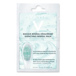 Vichy Masque Mineral Desalterant Quenching Mineral Mask Μασκα Ενυδάτωσης για Άμεση Καταπράϋνση 2x6ml.