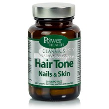 Power Health Platinum HAIR TONE NAILS & SKIN - Μαλλιά Δέρμα Νύχια, 30caps