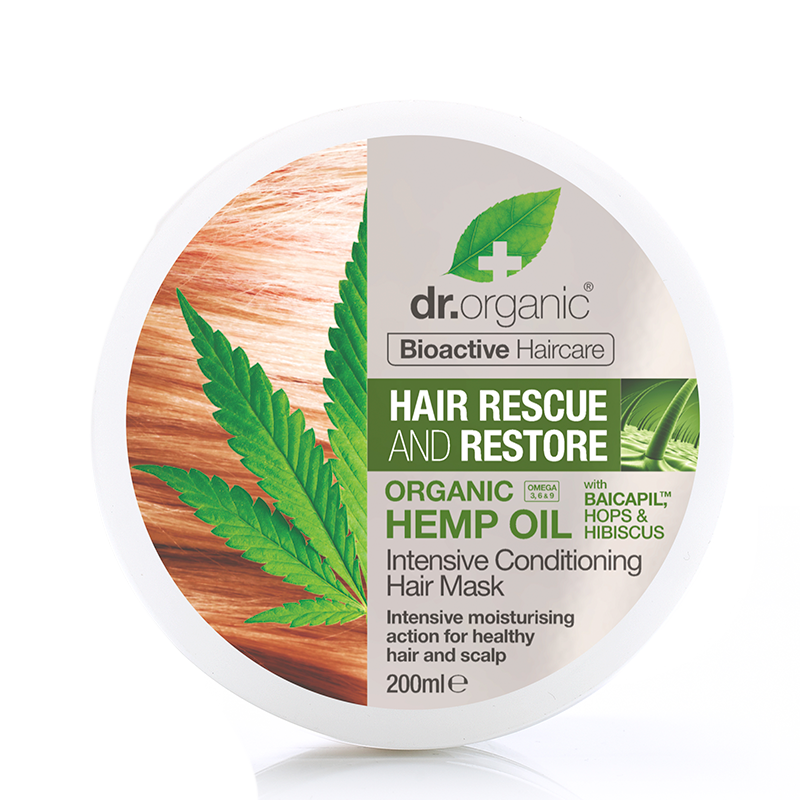 Organic Hemp Oil Restoring Hair & Scalp Treatment