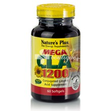 Natures Plus MEGA CLA 1200 - Αδυνάτισμα, 60 caps