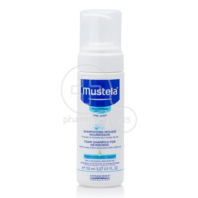 MUSTELA - Shampooing Mousse Nourrisson - 150ml