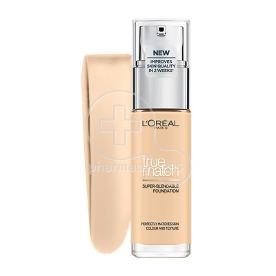 L'OREAL PARIS - TRUE MATCH Super Blendable Foundation 1.D/1.W (Golden Ivory / IV Dore) - 30ml