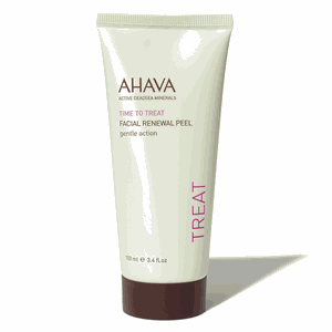 Ahava facial renewal peel