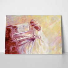 Handpainted girl pianist 532010746 a