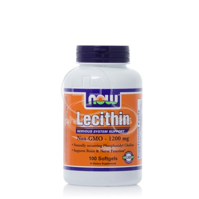 NOW - Lecithin 1200mg - 100softgels