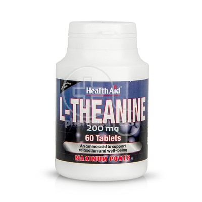 HEALTH AID - L-Theanine 200mg - 60tabs