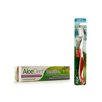 OPTIMA ALOE DENT TOOTHPASTE SENSITIVE 100ML (PROMO+ΟΔΟΝΤΟΒΟΥΡΤΣΑ)