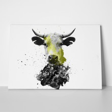 Cow splash abstract 1046001388 a