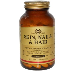 Solgar skin nails and hair 120s