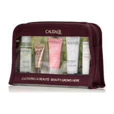 Caudalie Travel Set Beauty Grows Here Ταξιδιωτικό Σετ, Micellar Make-up Remover Water 30ml+Premier Cru The Eye Cream 5ml+Vinosource Moisturizing Sorbet Cream 15ml​​​​​​​+Hand and Nail Cream 30ml​​​​​​​+Lips Conditioner 4.5g​​​​​​​.