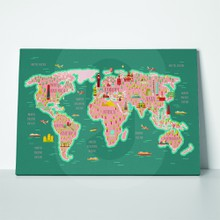 Travel world map 1007898838 a