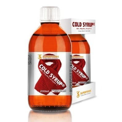 Superfoods cold syrup