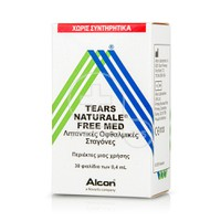 ALCON - Tears Naturale Free Med - 30x0,4ml