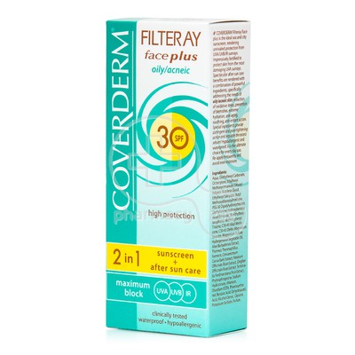 COVERDERM - FILTERAY Face Plus Oily/Acneic SPF30 - 50ml