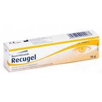 RECUGEL (BAUSCH & LOMB) EYE GEL 10GR