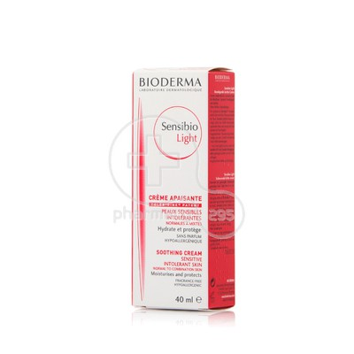 BIODERMA - SENSIBIO Light Cream Apaisante - 40ml