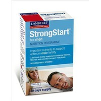 LAMBERTS STRONGSTART FOR MEN 30TABS & 30CAPS