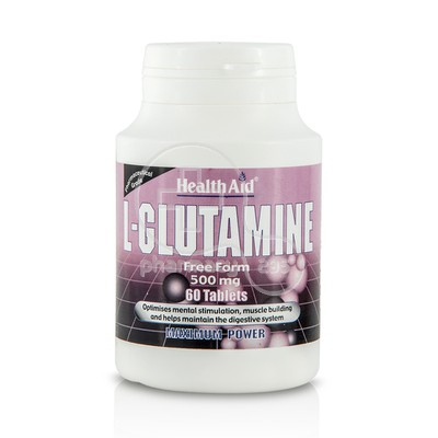 HEALTH AID - L-Glutamine 500mg - 60tabs