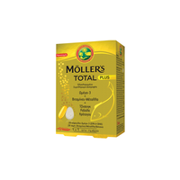 MOLLER'S TOTAL PLUS (28CAPS+28TABL)