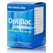 Optibac Probiotics For Every Day - Προβιοτικά, 30caps