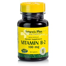 Nature's Plus VITAMIN B-2 - Ριβοφλαβίνη 100 mg, 90 tabs