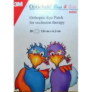 Opticlude biys girls 20pieces