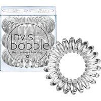 Invisibobble Original Crystal Clear 3τμχ - Λαστιχάκια Μαλλιών