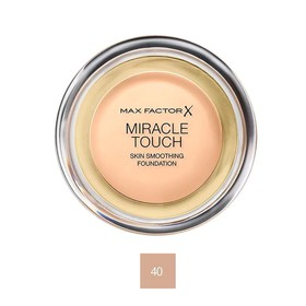 MAX FACTOR MIRACLE TOUCH FOUNDATION 40 CREAMY IVORY