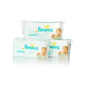 PAMPERS Baby wipes 56μαντηλάκια 2+1ΔΩΡΟ