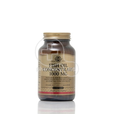 SOLGAR - Fish Oil Concentrate 1000mg - 60softgels