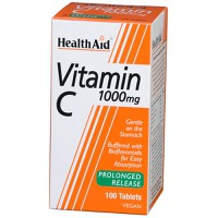 HEALTH AID VITAMIN C 1000MG PROLONGED RELEASE 60TABL