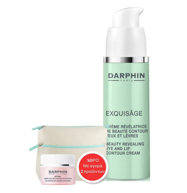 DARPHIN EXQUISAGE BEAUTY EYE AND LIP CONTOUR CREAM 15ML