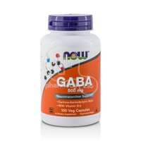 NOW - GABA 500mg - 100caps