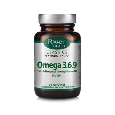 Power Health - Classics Platinum Range Omega 3.6.9 - 30caps