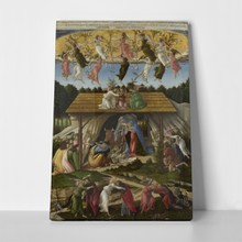 Mystic nativity  sandro botticelli3