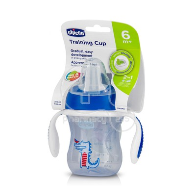 CHICCO - Training Cup 6m+ (Μπλε) - 200ml
