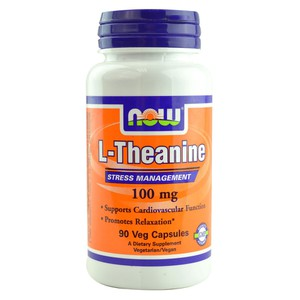 Now foods l theanine 100 mg
